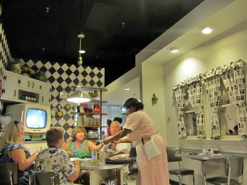 50's Prime Time Café, restaurante temático en Orlando