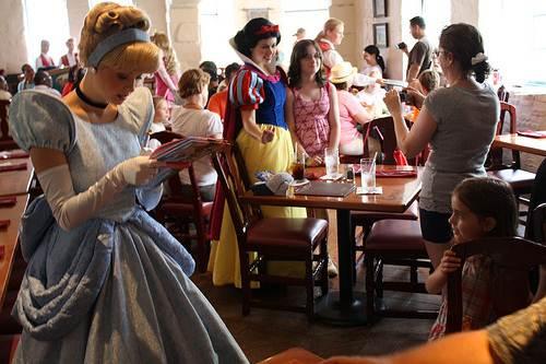 Akershus, el buffet de las princesas Disney en Epcot