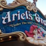 Ariel´s Grotto, comer bajo el mar en Disney Los Angeles