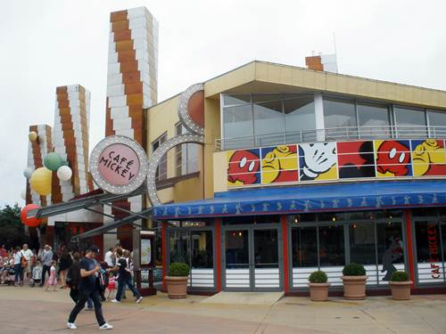 Café Mickey en Disney Village, París