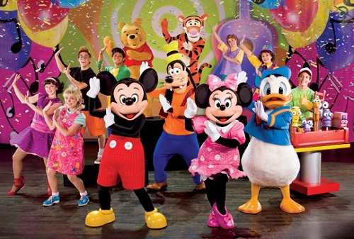 Disney Live! Mickey's Music Festival, en España