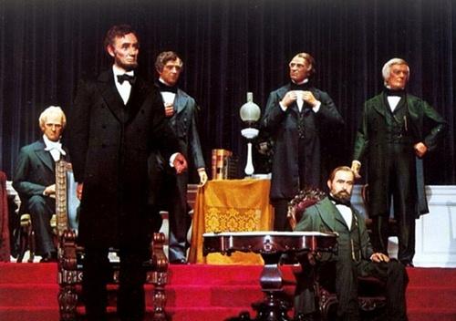 El Salón de los Presidentes en Disneyland Orlando