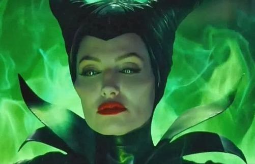 Malefica en Angelina Jolie