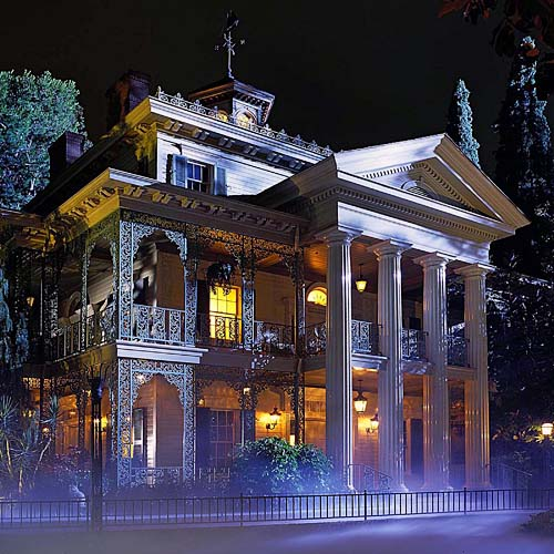 Mansion encantada Disneyland California