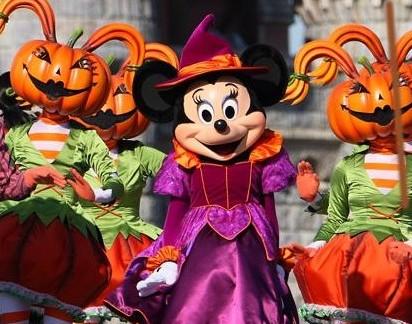 Minnie en Halloween