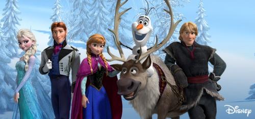 Personajes Frozen