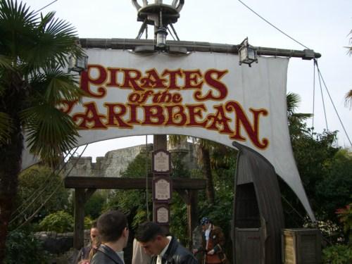 Piratas del Caribe en Disneyland París
