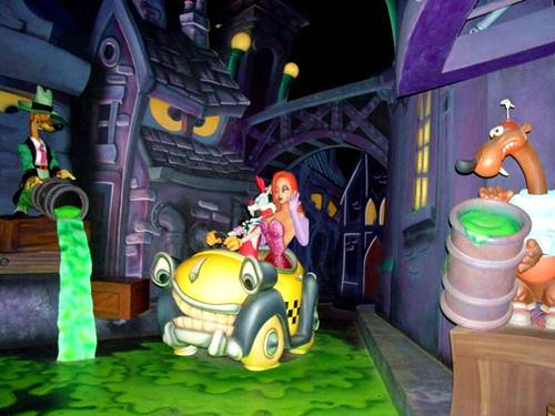 Roger Rabbit's Car Toon Spin, en Mickey's Toontown