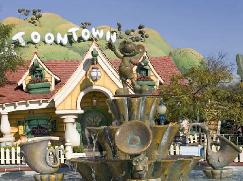 Áreas temáticas en el Disneyland Tokio