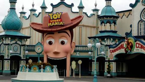 Toy Story Mania en Tokio Disneysea