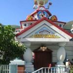 Mickey's Toontown en el Disneyland de Los Angeles, California