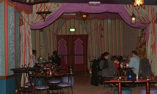 Agrabah Café, el restaurante de las mil y una noches