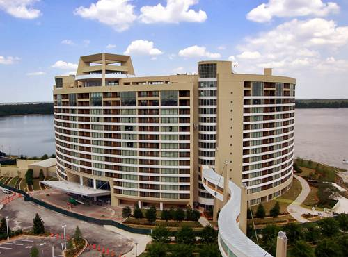 El lujoso Bay Lake Tower en Disney World, Florida