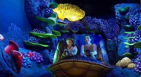 Buscando a Nemo en Disneyland