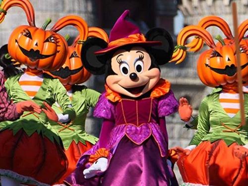 Disneyland en Halloween