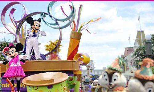 Desfiles en Disneyland Orlando