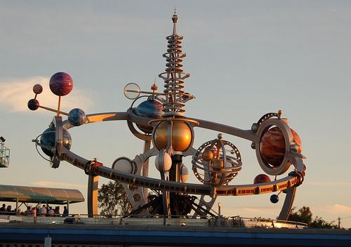 Astro Orbitor, en Disneyland París