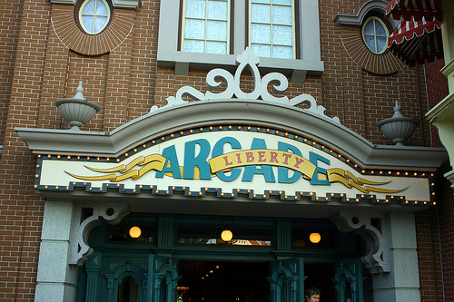 disney liberty arcade