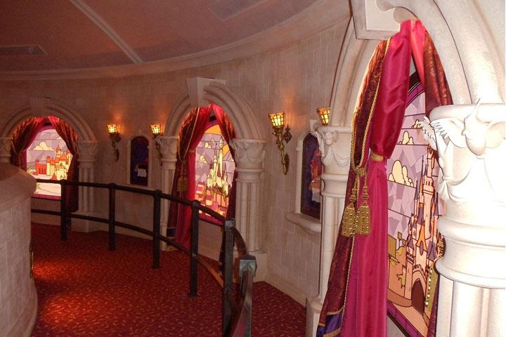 El Pabellón de las Princesas en Disneyland París