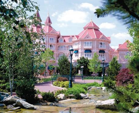 Hotel de lujo en el parque Disneyland Paris