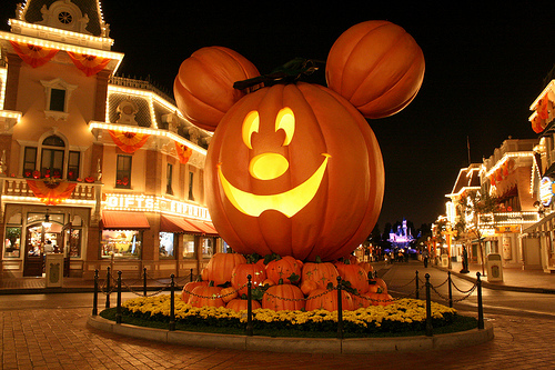 Disneyland Resort Orlando y Halloween Time 2011