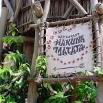 Restaurante Hakuna Matata en Adventureland