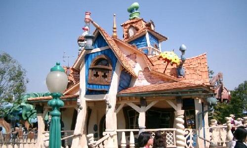 Visita la casa de Mickey en Toontown